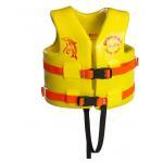 China Watercraft Kayak Life Vest Lockable Front Body Buckle Design Knot Reinforcement for sale