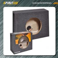 Wholesale Portable economic MDF 15CM auto speaker enclosures With Carpet sealed from china suppliers