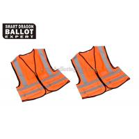 Wholesale Protective Reflective Safety Clothing Prevent Traffic Accident / Orange Hi Vis from china suppliers