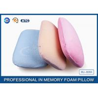 Wholesale Multi-Function Comfortable Memory Foam Back Cushion Office Napping Pillow In Blue from china suppliers