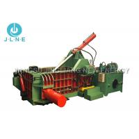 Wholesale Mobile Scrap Metal Baler Machine Hydraulic Large Scale 650*650mm Max from china suppliers