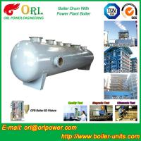 Quality Floor Standing CFB Boiler Drum Non Toxic , Steam Drum In Boiler for sale