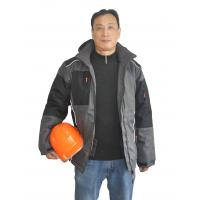 Buy cheap PROWORK 600D Outdoor Winter Work Jackets Hard Wearing Padding 100% Polyester 180 Gsm from wholesalers