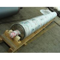 Paper felt rolls for paper-making press section