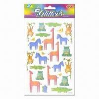 Wholesale Glitter stickers, vivid and eye-catching designs from china suppliers