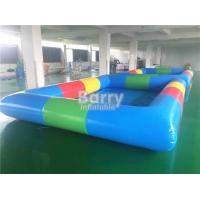 Wholesale Colorful Commercial Inflatable Family Swimming Pool For Bumper Boat 5 * 5 * 0.65 M from china suppliers