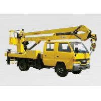 China XCMG Bucket Articulating Truck Mounted Lift , 2T Lifting Capacity for sale