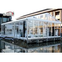 Wholesale 100 People Luxury Transparent Aluminium Tent  with Air Conditioners for Weddings from china suppliers