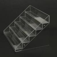 Wholesale acrylic cosmetic display stands/transparent acrylic nail polish displays rack from china suppliers