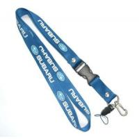 Wholesale Screen Printing ID card / Cell Phone Neck Lanyards With Plastic Buckle from china suppliers