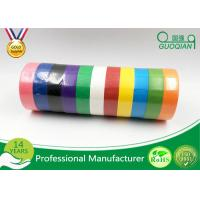 Wholesale Backing Printed Colored Masking Tape For Car Paint , Labeling , Decorating from china suppliers