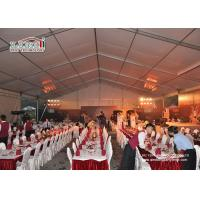 Wholesale Custom Big Outdoor Event Tents White Party Tents With Tables Chairs Wedding Tent from china suppliers