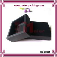 Wholesale Square Presentation Boxes black card with custom logo ME-CD009 from china suppliers