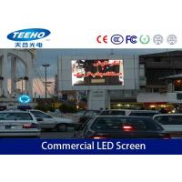 Wholesale Full Color P10 Outdoor Commercial Display LED Screens For Advetising , 8 Bits MBI5024 from china suppliers