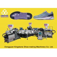 Wholesale High Production Rotary TPR Shoe Sole Making Machine One / Two / Three Colors from china suppliers