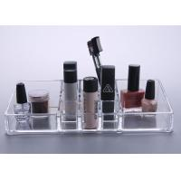 Wholesale Crystal Clear Plastic Makeup Display Stand Organizer Tray Multifunction from china suppliers