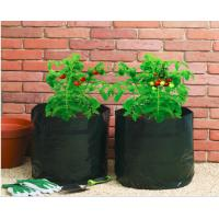 Wholesale Garden Potato Garden Plant Accessories PE Fabric Reusable Vegetable , Round small Grow Bag from china suppliers