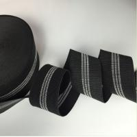 Wholesale Black Color Width 3 Inch Replacement Webbing For Outdoor Furniture from china suppliers