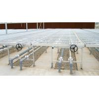 Quality movable Plant nursery equipment steel bed with aluminum frame , 1.5m wide for sale