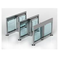 Wholesale Waist High Security Automatic Turnstiles Fastlane Turnstiles Entrance Control from china suppliers