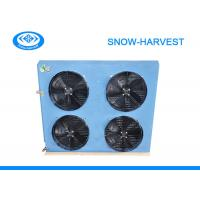 China Cold Room Air Cooled Condenser Corrosion Resistant Surface Freezer Condenser on sale