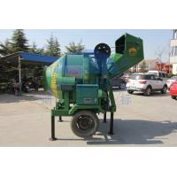 Wholesale Ladder Type Portable Mixer Machine, 2520 * 2000 * 2500mm Green Mortar JZC250 Cement Mixers from china suppliers