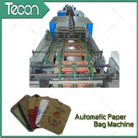 Buy cheap Full Automatic Paper Bag Machinery ZT9804 TUBER + HD4913 BOTTOMER with 60,000 Bags Capacity from Wholesalers