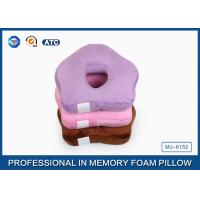 Wholesale Small Ring Cute Memory Foam Sleep Pillow / Memory Foam Car Seat Cushion from china suppliers