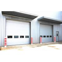 China Automatic Vertical Lifting Industrial Sectional Doors Polyurethane Foam Insulation on sale