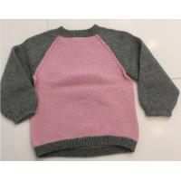 Quality Anti Shrink Kids Pullover Sweater , Jacquard Pullovers For Girls for sale