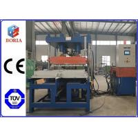 China Column Type Structure Rubber Tile Machine Steam Heating PLC Automatic Control for sale