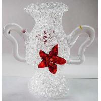 China Handmade Pyrex Glass Handicrafts Art Crafts Bottle For Christmas Gift on sale