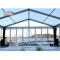 Wholesale 200 Guests Aluminum Frame Luxury Wedding Tents With Glass Sidewalls from china suppliers