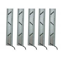Wholesale Galvanized Steel Greenhouse Accessories , Lock Channel For Greenhouse Sidewall Film from china suppliers