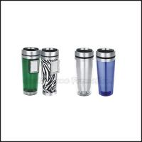 Wholesale Promotion printed logo travel car two layer stainless steel mug water drink cup bottle from china suppliers