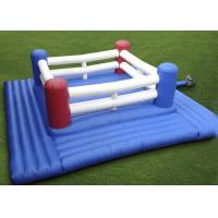 Wholesale Super Inflatable Sport Games Kids Inflatable Boxing Ring With Suit For Fun from china suppliers