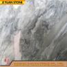 Italian Bardiglio Carrara Grey Marble Stone Slab For Tiles Slab Flooring Floors for sale