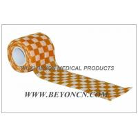 Wholesale Cohesive Bandage Cohesive Wrap Self  Adhesive Check Pattern Custom Printed from china suppliers