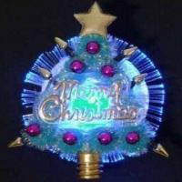 Wholesale Christmas Optical Fiber Flashing Brooch, Several Attractive Models are Available from china suppliers
