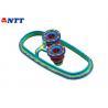 Steel Cavity Dual Shot Injection Molding PP / TPET Transparent Plasitc Part for sale