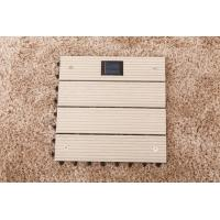 Wholesale DIY Garden WPC decks Tile With Solar Light from china suppliers