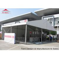 Aluminum Frame Trade Show Tents 15m*10m / Luxury Exhibition Tents
