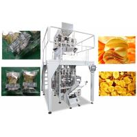 Wholesale Automatic Chips Packing Machine , 20 - 500g / Bag Multihead Packing Machine from china suppliers