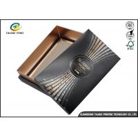 Wholesale Wine Gift Packaging Cardboard Paper Drawer Box Black Customizable from china suppliers