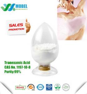 Tranexamic Acid  CAS 1197-18-8 For Skin Whitening  USP Standard Free Sample