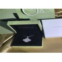 Wholesale 18K White Gold Van Cleef & Arpels Magic Alhambra Necklace With Diamonds from china suppliers