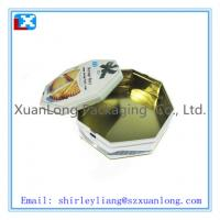 Wholesale Octagonal tin biscuit box from china suppliers