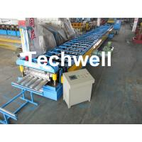 Wholesale Galvanized Steel Floor Deck Roll Forming Machine for Making Steel Structure Floor Decking Panel from china suppliers