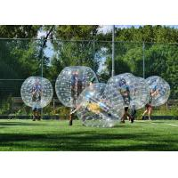 Quality Adult TPU Inflatable Bumper Ball , Outdoor Inflatable Toys Bubble Soccer Ball For Kids for sale