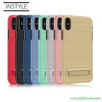 Wholesale Factory Wholesale Plastic Phone Case, Hard PC mobile Case, Case Cover with kickstand, colorful anti-slip mobile case from china suppliers